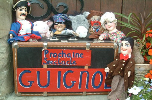 Guignol Puppet Show Characters from the traditional french show