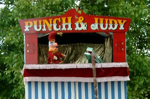 Punch and Judy Puppet Show - Mr Punch and the Crocodile